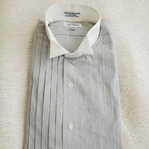 NWT Paul Fredrick shirt. Size 16.5- 35